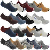 Zest Boys Cotton Rich Trainer Liner Socks